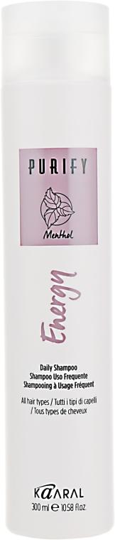 Энергетический шампунь с экстрактом свежей мяты и ментола - Kaaral Purify Energy Shampoo