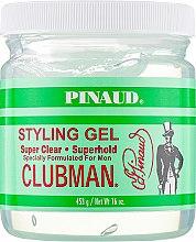 Духи, Парфюмерия, косметика Гель для укладки, сверх-прозрачный - Clubman Pinaud Super Clear Styling Gel For Men