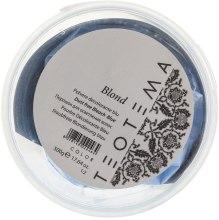 Духи, Парфюмерия, косметика Порошок для осветления голубой - Teotema Color Blond Dust Free Bleach Blue