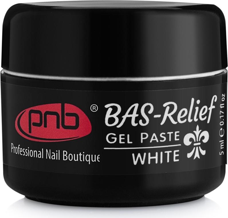 """Гель-паста для ногтей """"Барельеф"""" - PNB Gel Paste BAS-Relief"""