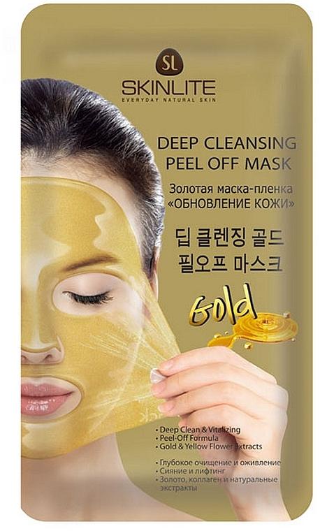 """Золотая маска-пленка """"Обновление кожи"""" - Skinlite"""