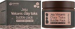 Духи, Парфюмерия, косметика Пенящаяся маска с вулканической глиной - Eyenlip Jeju Volcanic Clay Toks Bubble Pack