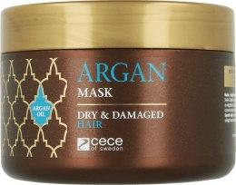 Духи, Парфюмерия, косметика Маска для волос с аргановым маслом - Cece of Sweden Argan Mask