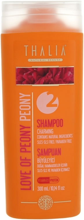 Шампунь с экстрактом пиона - Thalia Love of Peony Peony Shampoo