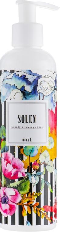 """Маска для волос """"Мягкость и восстановление"""" - Solen Mask"""