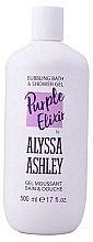 Духи, Парфюмерия, косметика Гель для душа - Alyssa Ashley Purple Elixir Bath And Shower Gel