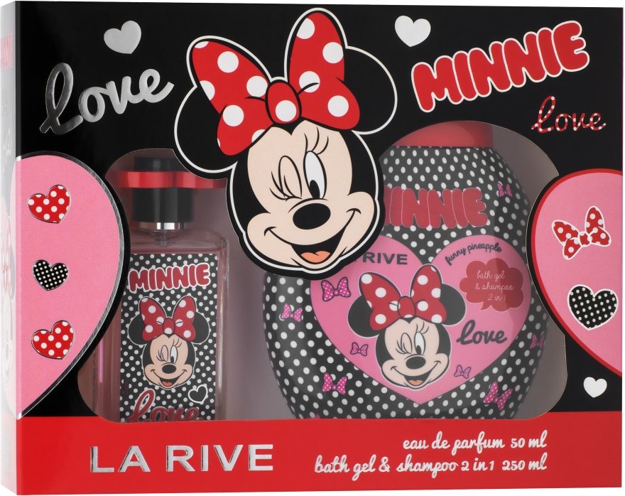 La Rive Minnie - Детский подарочный набор (edp/50ml + sh/gel/250ml)