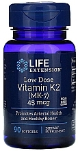 "Духи, Парфюмерия, косметика Пищевая добавка ""Витамин К2"" - Life Extension Vitamin K2 (MK-7)"