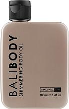 Духи, Парфюмерия, косметика Масло с шимером для тела - Bali Body Shimmering Body Oil