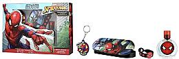 Парфумерія, косметика Air-Val International Spiderman - Набір (edt/50ml + pencil/box + bracelet + keychain)