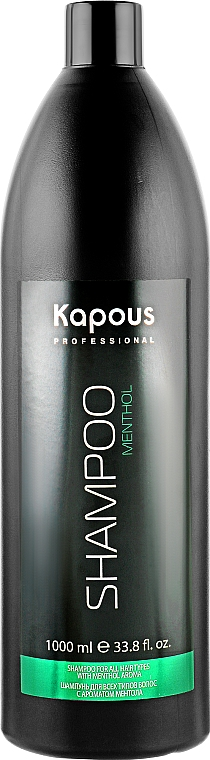 Шампунь для всех типов волос - Kapous Professional Menthol Shampoo