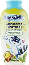 """Духи, Парфюмерия, косметика Шампунь и пена для ванной для детей """"Персик"""" - SapoNello Shower and Hair Gel"""