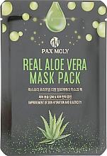 Духи, Парфюмерия, косметика Маска тканевая для лица с экстрактом алоэ вера - Pax Moly Real Aloe Vera Mask Pack