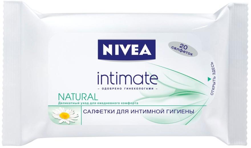 Салфетки для интимной гигиены Mild Comfort - Nivea Intimo Natural