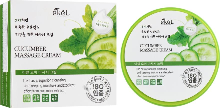 Массажный крем с экстрактом огурца - Ekel Cucumber Massage Cream