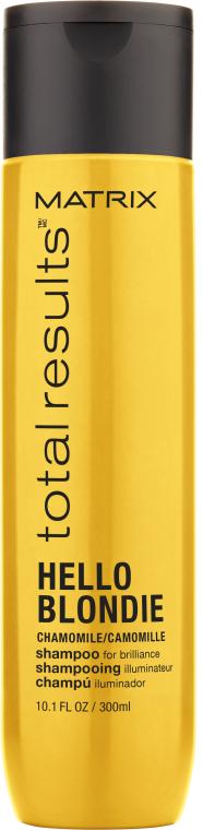 Шампунь для сияния светлых волос - Matrix Total Results Hello Blondie Shampoo