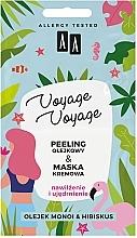 """Духи, Парфюмерия, косметика Масляный пилинг + крем-маска """"Монои и гибискус"""" - AA Voyage Voyage 2 In 1"""