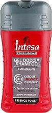 "Шампунь-гель для душа блокирующий ""Сила аромата"" - Intesa Silver Essence Power Shower Shampoo Gel — фото N1"