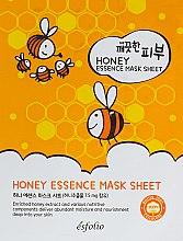 Духи, Парфюмерия, косметика Тканевая маска c медом - Esfolio Pure Skin Essence Mask Sheet Honey