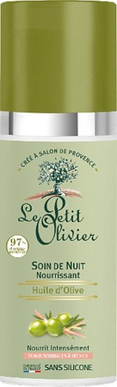 Крем ночной с маслом оливы - Le Petit Olivier Face Cares With Olive Oil