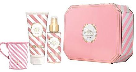 Pupa Miss Princess Kit Large Sugar Drops - Набор(sh/milk/200ml + scented/water/150ml + cup)