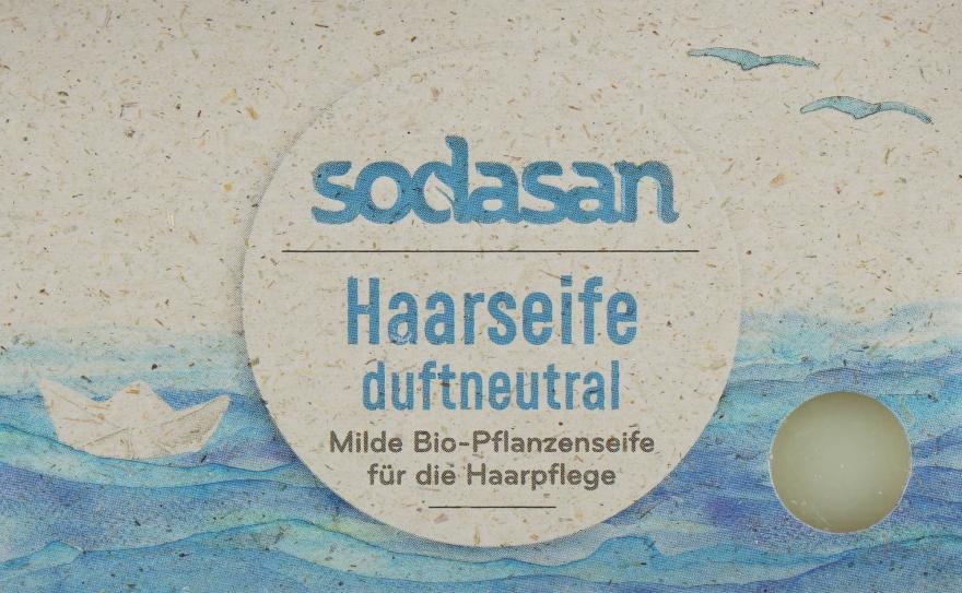 Органическое мыло-шампунь для волос и чувствительной кожи - Sodasan