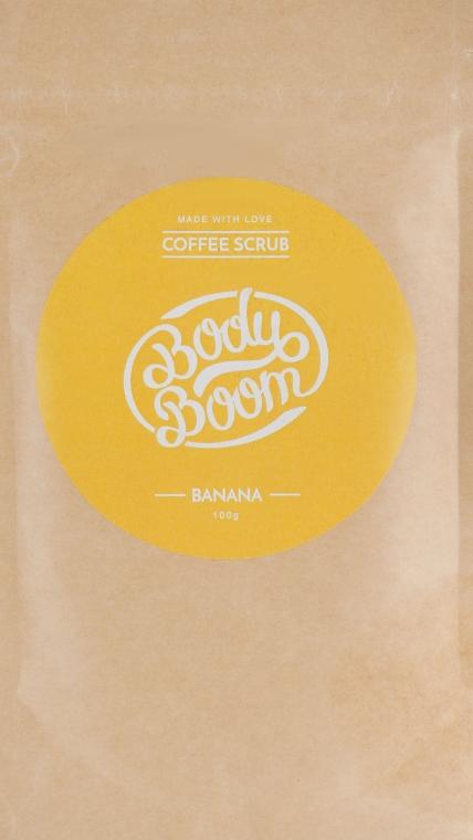 Кофейный скраб, банан - Body Boom Coffee Scrub Banana — фото N1