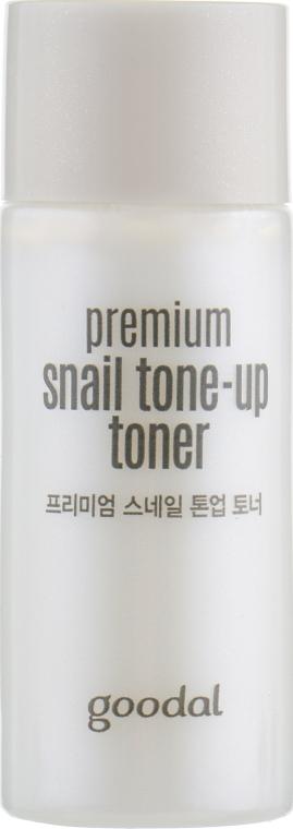 Набор - Goodal Premium Snail Tone-Up Special Set (cr/50ml + toner/18ml + cr/20ml) — фото N4