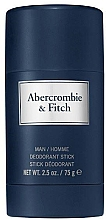 Парфумерія, косметика Abercrombie & Fitch First Instinct Blue - Дезодорант-стік