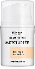 """Парфумерія, косметика Крем для обличчя зволожувальний, нічний """"Moisturize"""" - SKINBAR Centella & Ceramide Face Cream"""