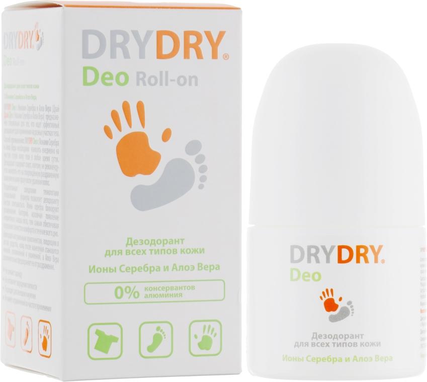 Дезодорант для тела c ионами серебра и алоэ вера - Lexima Ab DryDry Deo Roll-on