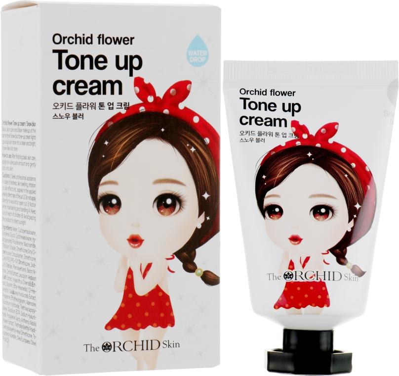 Тонирующий крем для лица - The Orchid Skin Orchid Flower Tone Up Cream Snow Blur
