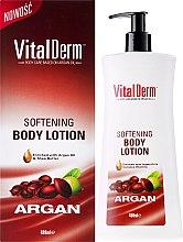 Духи, Парфюмерия, косметика Смягчающий лосьон для тела - VitalDerm Argan Softening Body Lotion