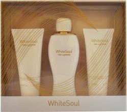 Духи, Парфюмерия, косметика Ted Lapidus White Soul - Набор (edp/100ml+b/cr/100ml+s/gel/100ml)