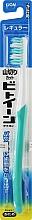Духи, Парфюмерия, косметика Зубная щетка с косым срезом щетинок, жесткая, бирюзовая - Lion Between Regular Toothbrush