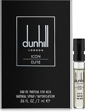 Духи, Парфюмерия, косметика Alfred Dunhill Dunhill London Icon Elite - Парфюмированная вода (пробник)