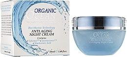Духи, Парфюмерия, косметика Ночной крем для лица - Organic Ocean Bio-Marine Technology Anti Aging Night Cream