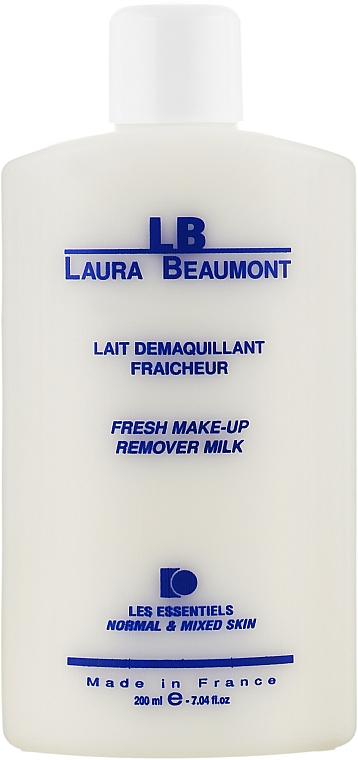 Очищающее молочко для всех типов кожи - Laura Beaumont Fresh Make Up Remover Milk