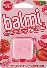 Духи, Парфюмерия, косметика Бальзам для губ - I Love… Balmi Cube Strawberry Lip Balm