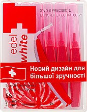 Парфумерія, косметика Щітки - Edel+White Dental Space Brushes SS
