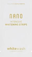 Духи, Парфюмерия, косметика Интенсивно отбеливающие полоски - WhiteWash Laboratories Nano Intensive Whitening Strips