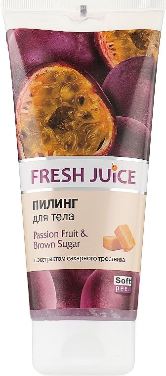 """Пилинг для тела """"Маракуйя и Коричневый сахар"""" - Fresh Juice Passion Fruit & Brown Sugar"""
