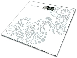 Духи, Парфюмерия, косметика Весы электронные напольные 5870-4, белые - Momert 5878-4