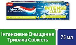 """Духи, Парфюмерия, косметика Зубная паста """"Интенсивное очищение, Длительная свежесть"""" - Aquafresh Intense Clean Lasting Fresh Toothpaste"""