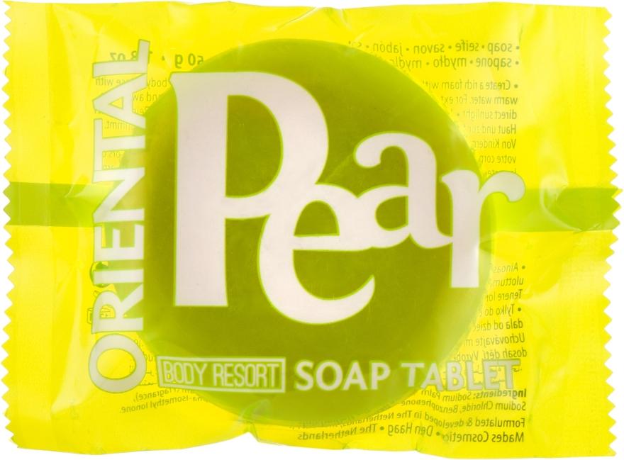 "Мыло ""Восточная груша"" - Mades Cosmetics Body Resort Oriental Pear Soap Tablet"