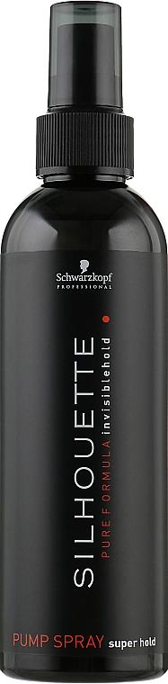 Спрей для волос сильной фиксации - Schwarzkopf Professional Silhouette Pumpspray Super Hold