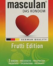 "Парфумерія, косметика Презервативи ""Frutti Edition"" - Masculan"