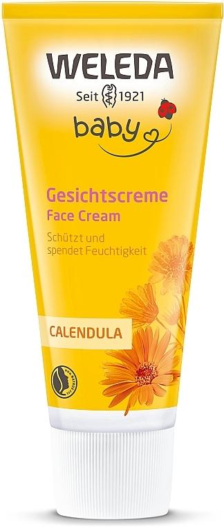 Детский питательный крем для лица «Календула» - Weleda Calendula Gesichtscreme
