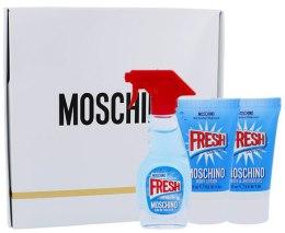 Духи, Парфюмерия, косметика Moschino Fresh Couture - Набор (edt 50ml + b/l 50ml + s/g 50ml)