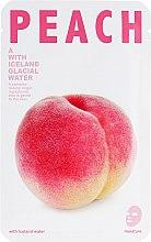 """Духи, Парфюмерия, косметика Тканевая маска для лица """"Персик"""" - The Iceland Peach Mask"""